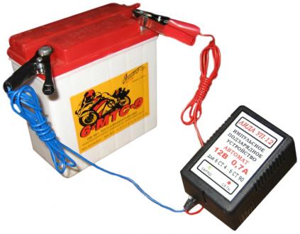 Відновлення та зарядка акумуляторів